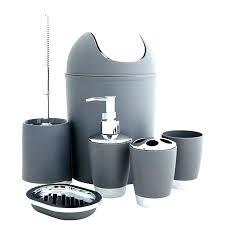 unique bathroom accessories sets