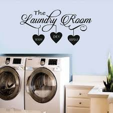The Laundry Room Quote Wall Sticker Vinyl Art Wall Decal Home Decor Cxz Ebay