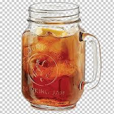 beer fizzy drinks cocktail iced tea jar