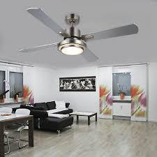 brushed nickel ceiling fan 3 light