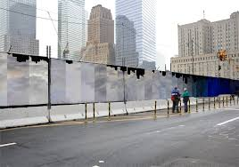 John Locke Blog Archive Wtc Construction Fence Proposal Fence Design Construction Site Safety Construction Fence