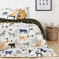 kids bedding set safari wild