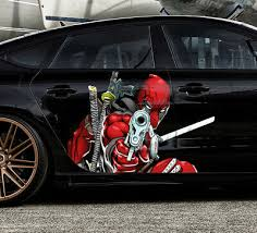 Marvel Comics Jumping Deadpool Decal Vinyl Truck Car Sticker Car Truck Graphics Decals Auto Parts And Vehicles Tamerindsa Com Ar