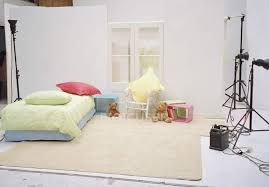 studio set of child s bedroom interior