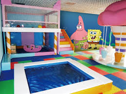 Spongebob Square Pants Wall Mural For Baby Room Professional Wallpaper Manufacture In China
