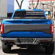 American Flag Rear Window Graphic Sticker Windshield Decal For Suv Pickup Buy At A Low Prices On Joom E Commerce Platform