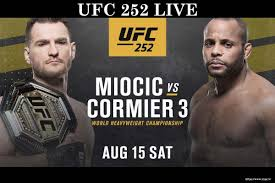 UFC 252 Live Stream Free PPV Fght Watch Online TV Schedule – Out There  Outdoors