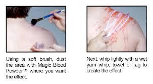 magic blood powder a water