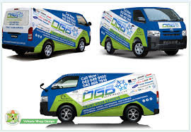 Modern Professional Hvac Car Wrap Design For A Company By Azhoeck Design 22062211