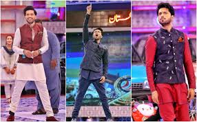 some of fahad mustafa's best looks while hosting game show JEETO ...
