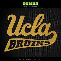 Ucla Bruins College Logo 1c Vinyl Decal Sticker Car Window Wall Decor Decals Stickers Vinyl Art Home Garden