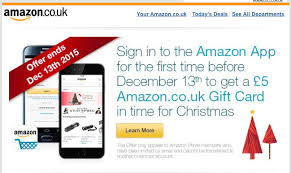 5 amazon gift card when you