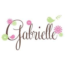 Girls Room Wall Decal Personalized With From Fleurish Walls