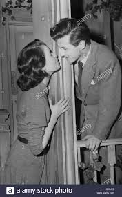 Theatre - Constance Smith with her fiance actor Bryan Forbes Stock Photo -  Alamy