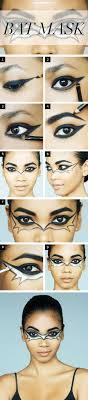 halloween makeup how to the bat mask