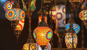 moroccan lamps and lighting berberbazar
