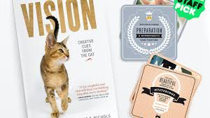 VISION: Creative Cues From The Cat by Gail Perry Johnston — Kickstarter