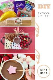 diy fondue kit gift pack be a fun mum