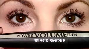 power volume 24h black smoke mascara