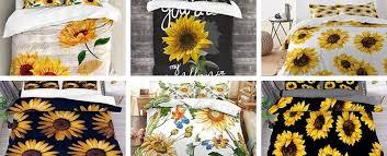 100 gorgeous sunflower bedding sets