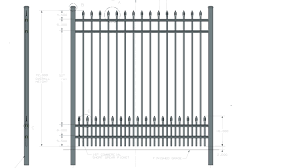 Specifications Ultra Aluminum Sup Sup For Fences Gates And Railing