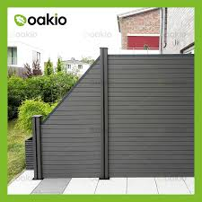 China Uv Resistant Co Extrusion Wood Plastic Composite Fence Board With Sgs China Wpc Fencing Wpc