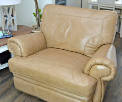 clean leather furniture naturally