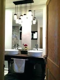 bathroom brushed nickel flush lights