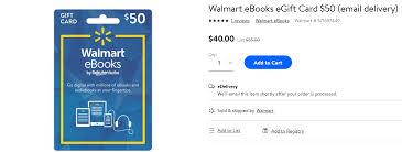 walmart is ing kobo ebook gift