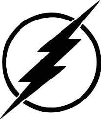 Amazon Com Flash Wall Decal Superhero Lightning Bolt Logo Emblem Playroom Gift Vinyl Sticker Home Nursery Teens Kids Baby Room Art Stencil Decor Mural Removable Poster 119ct Arts Crafts Sewing