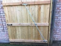 Gate Hardware Sagging Gate Repair Kit For Stockade Fence Gates Adjustable Brace Ebay