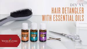 diy essential oil detangling spray