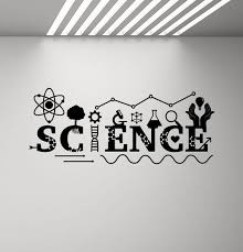 Science Wall Decal Sign Dna Decal School Classroom Poster Etsy