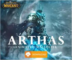 arthas world of warcraft animated