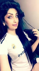 صور بنات العراق مشجعات ريال مدريد