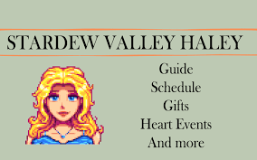 stardew valley haley guide gifts