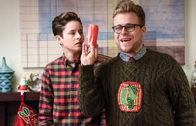 Since we're all posting allies: Adam Conover wears pickle sweaters and  saves enby christmas : traaaaaaannnnnnnnnns