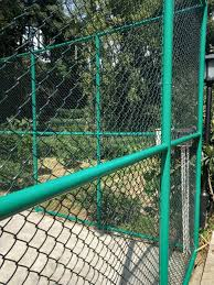 Pvc Coated Chain Link Mesh Fence Security 3 3mm 50x50mm 1 5m X30m