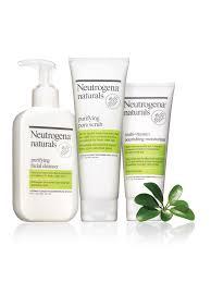 neutrogena naturals purifying