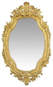 french louis xv style gold wall mirror