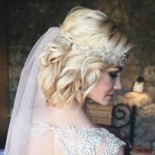 صور تسريحات شعر ويفي قصير للعروس الحالمة مجلة هي