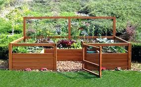 raised veggie garden surroundings biz