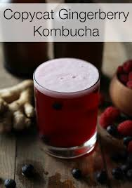 copycat gingerberry kombucha the