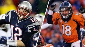 Tom Brady and Peyton Manning Lock Horns ...