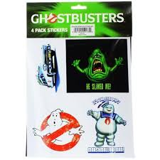 Just Funky Ghostbusters Sticker 4 Pack Target