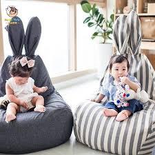 Happymaty Baby Shining Bean Bag Infant Sofa Seat Lazy Chair Kids Room Decoration Cartoon Bunny Sofa Chair Armchair M01 Baby Seats Sofa Aliexpress