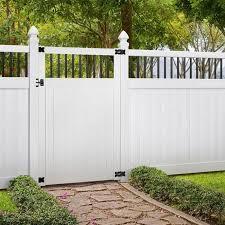 Building Materials Decking Fencing 3 1 2 Ft Windham Walk Through White Vinyl Unassembled Fence Gate X 6 Ft Fundar Com Co
