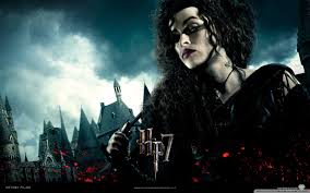 the ly hallows bellatrix wallpaper