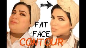 how i contour my fat face xh11jab
