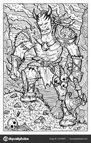Orc Troll Of Goblin Stockvector C Samiramay 142128810